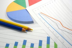 売上のグラフ